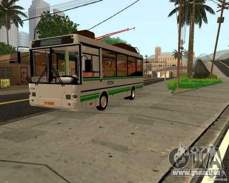 GROOVE MTRZ 3237 für GTA San Andreas linke Ansicht