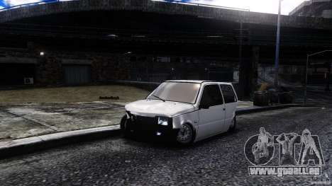 VAZ 1111 Oka pour GTA 4 Vue arrière