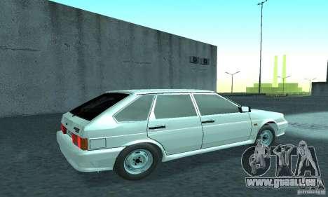 VAZ-2114 für GTA San Andreas rechten Ansicht