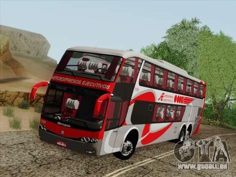 Marcopolo DD800 Volvo B12R pour GTA San Andreas