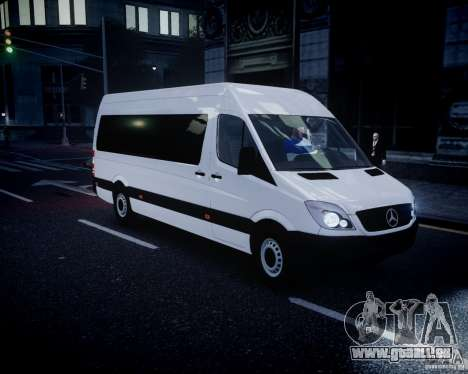 Mercedes-Benz Sprinter Long für GTA 4