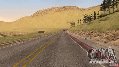 New HQ Roads für GTA San Andreas zehnten Screenshot