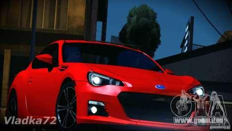 Subaru BRZ S 2012 für GTA San Andreas Seitenansicht