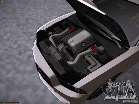 Dodge Charger SRT8 2012 pour GTA San Andreas vue arrière