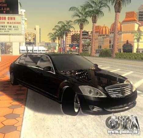 Mercedes-Benz Pullman (w221) SE pour GTA San Andreas