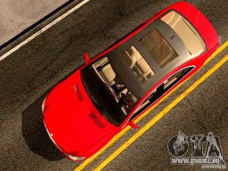 Mercedes-Benz S65 AMG 2007 für GTA San Andreas Rückansicht