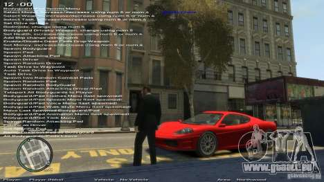 Simple Trainer Version 6.3 pour 1.0.1.0-1.0.0.4 pour GTA 4