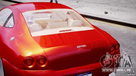 Ferrari 612 Scaglietti custom pour GTA 4 Salon