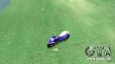 Yamaha MBK Booster pour GTA 4 est un droit