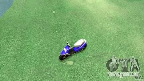 Yamaha MBK Booster für GTA 4 rechte Ansicht