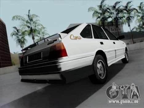 FSO Polonez Caro Orciari 1.4 GLI 16v pour GTA San Andreas laissé vue