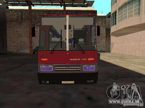 Ikarus 255 für GTA San Andreas
