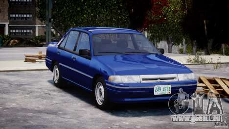 Mercury Tracer 1993 v1.0 pour GTA 4 est une vue de l'intérieur