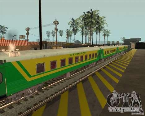 Voiture de tourisme n° 05808915 pour GTA San Andreas vue de droite