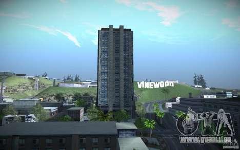 Gratte-ciel de HD pour GTA San Andreas cinquième écran