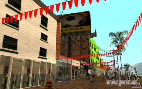 Nouvelle rue de la plage pour GTA San Andreas