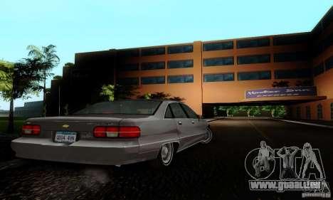 Chevrolet Caprice 1991 für GTA San Andreas linke Ansicht