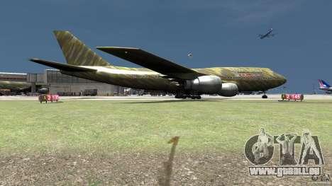Airbus Military Mod für GTA 4 hinten links Ansicht