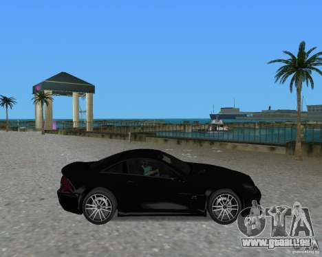Mercedess Benz SL 65 AMG Black Series für GTA Vice City rechten Ansicht