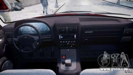 GAZ 3110 Wolga für GTA 4 obere Ansicht