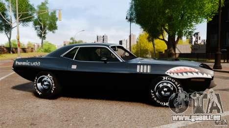 Plymouth Cuda 1971 [EPM] Mopar für GTA 4 linke Ansicht
