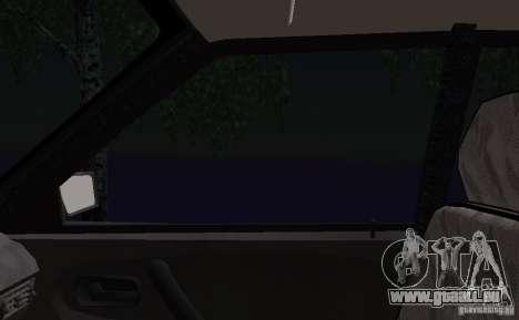 VAZ 2115 Polizei DPS für GTA San Andreas Unteransicht
