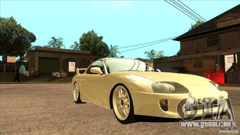 Mazda RX7 FD3S Type-R Bathurst pour GTA San Andreas vue arrière