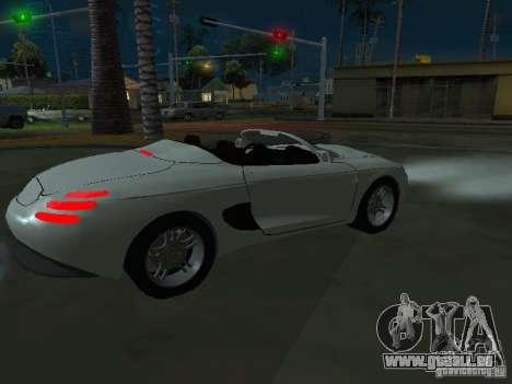 Ford Mustang 1993 pour GTA San Andreas vue de droite