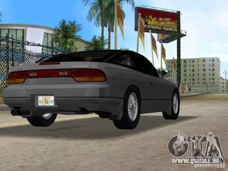 Nissan 200SX pour GTA Vice City sur la vue arrière gauche
