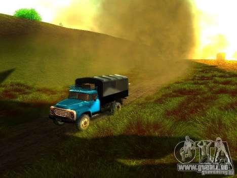 ZIL 431410 pour GTA San Andreas vue de côté