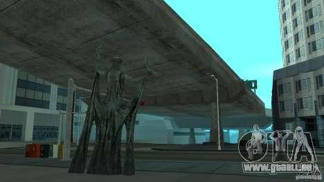 Statue de Skyrim pour GTA San Andreas deuxième écran