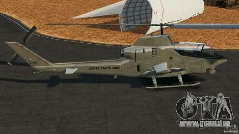 Bell AH-1 Cobra pour GTA 4 est une gauche