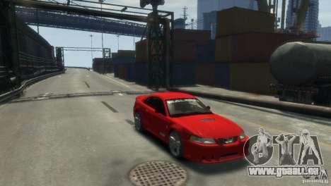 SALEEN S281 pour GTA 4 Vue arrière de la gauche
