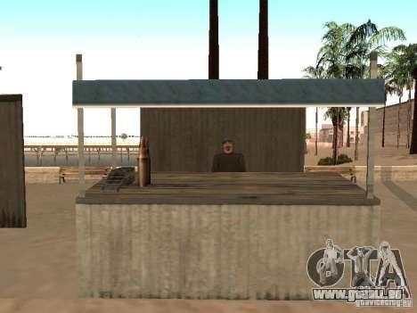 Marché sur la plage pour GTA San Andreas