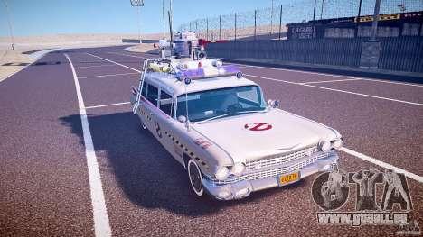 Ecto-1 (Ghost Hunters) Finale für GTA 4 Innenansicht