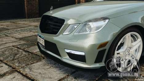 Mercedes-Benz E63 AMG für GTA 4 Unteransicht