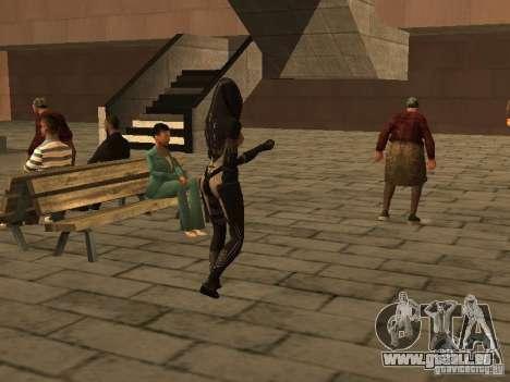 Girls from ME 3 für GTA San Andreas siebten Screenshot