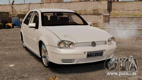 Volkswagen Golf Flash Edit pour GTA 4