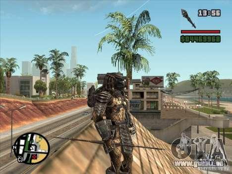 La lance de Predator pour GTA San Andreas quatrième écran