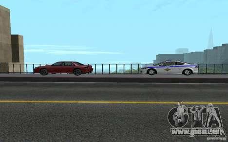 Polizei auf der Brücke von San Fiero_v. 2 für GTA San Andreas sechsten Screenshot
