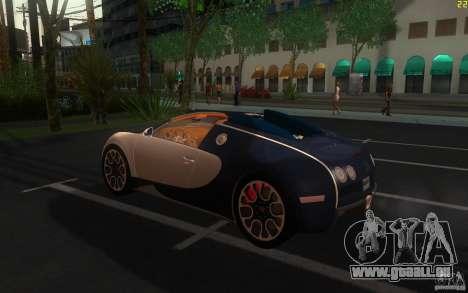 Bugatti Veyron 16.4 Grand Sport Sang Bleu pour GTA San Andreas laissé vue