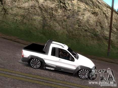 Fiat Strada pour GTA San Andreas vue de droite