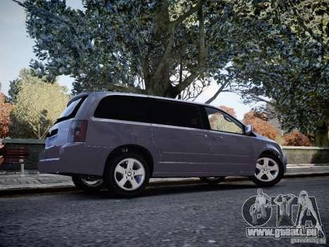 Dodge Grand Caravan SXT 2008 für GTA 4 rechte Ansicht