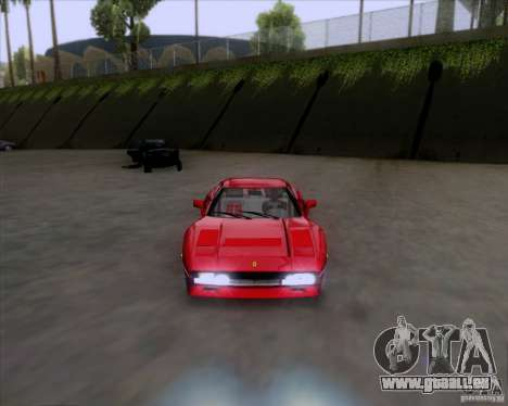 Ferrari 288 GTO für GTA San Andreas zurück linke Ansicht