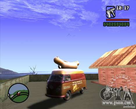 Volkswagen Transporter T1 Hot Dog pour GTA San Andreas