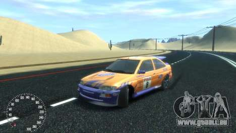 Ford Escort RS Cosworth pour GTA 4