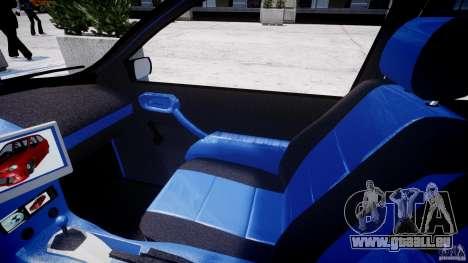 Chevrolet Corsa Extreme Revolution pour GTA 4 Vue arrière
