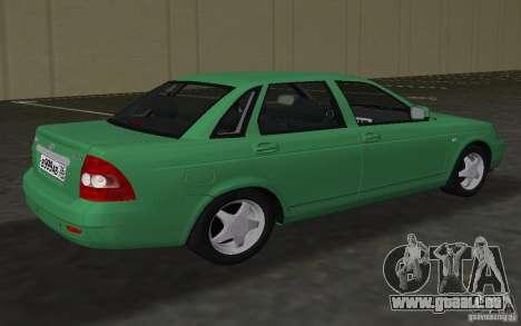 Lada 2170 Priora für GTA Vice City Rückansicht