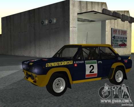 Fiat 131 Rally für GTA San Andreas