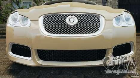 Jaguar XFR 2010 v2.0 für GTA 4-Motor